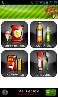 Screenshot 1 Entwicklung Ciosk Apps